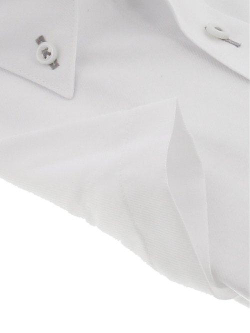 形態安定吸水速乾 スリムフィット ボタンダウン半袖シャツ