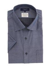 形態安定吸水速乾 スリムフィット ワイドカラー半袖シャツ