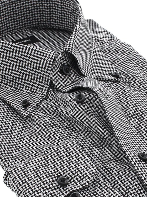 【大きいサイズ】グランバック/GRAND-BACK 形態安定ボタンダウン長袖シャツ