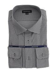 【大きいサイズ】グランバック/GRAND-BACK ノーアイロンストレッチ ワイドカラー長袖ニットシャツ