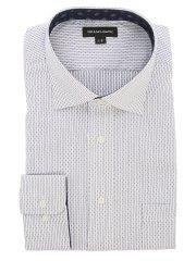 【大きいサイズ】グランバック/GRAND-BACK 形態安定ワイドカラー長袖シャツ