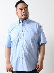 【大きいサイズ】アレキサンダージュリアン/ALEXANDER JULIAN 綿100% ボタンダウン半袖シャツ