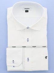 【大きいサイズ】レノマオム/renoma HOMME  形態安定吸水速乾ワイドカラー長袖シャツ