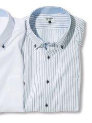【大きいサイズ】レノマオム/renoma HOMME アイスカプセル形態安定ボタンダウン半袖シャツ