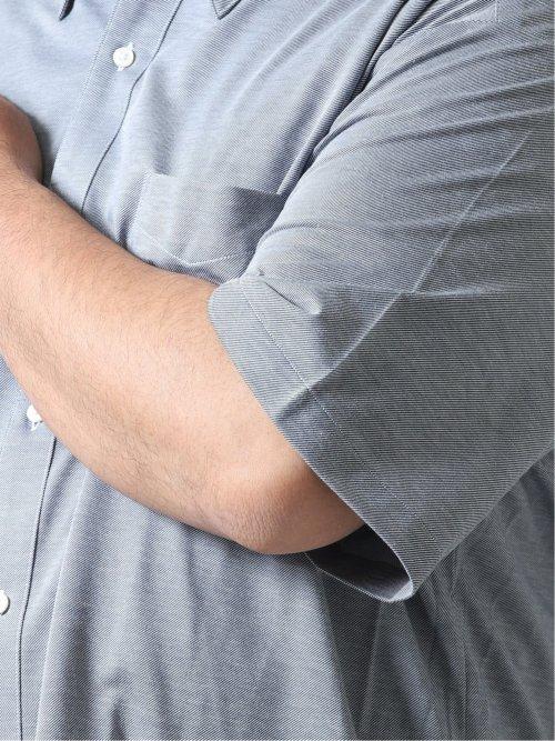 【大きいサイズ】グランバック/GRAND-BACK Biz アルティマ/ALTIMA ボタンダウン半袖ポロ