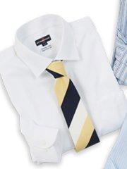 【大きいサイズ】アレキサンダージュリアン/ALEXANDER JULIAN 形態安定80双ワイドカラー長袖シャツ