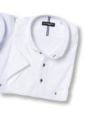 【大きいサイズ】HIROKO KOSHINO HOMME ハイブリットセンサーカッタウェイ半袖シャツ