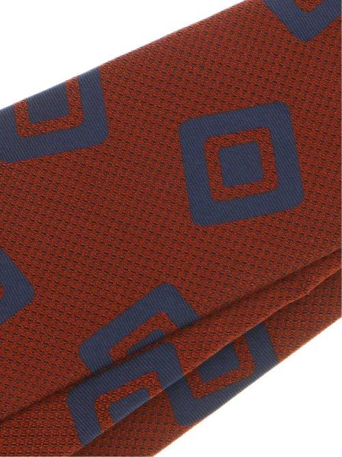 【大きいサイズ】GB by FATTURA  シルク小紋柄ネクタイ 8.5cm幅