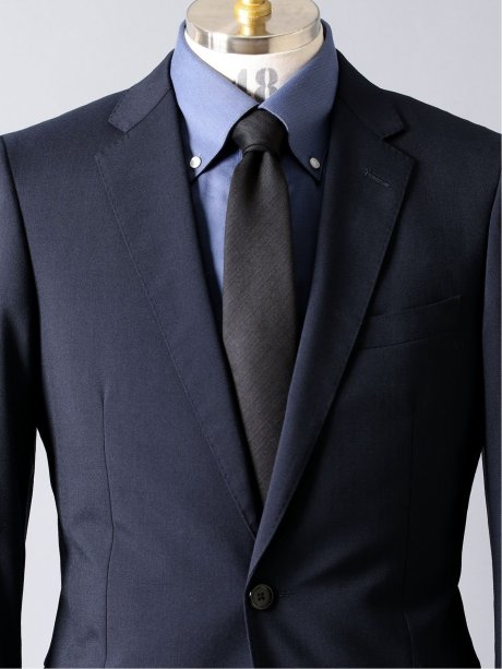 スーツ地 シャドーストライプ レギュラータイ 8.0cm幅