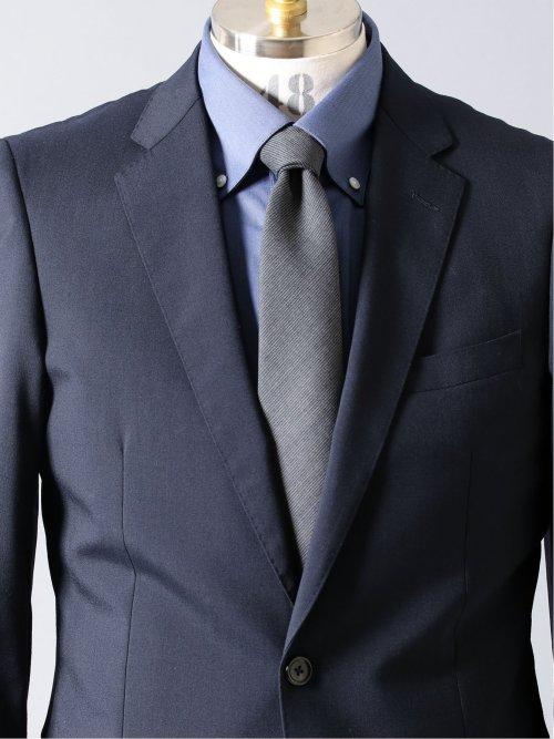 スーツ地 ソリッド レギュラータイ 8.0cm幅
