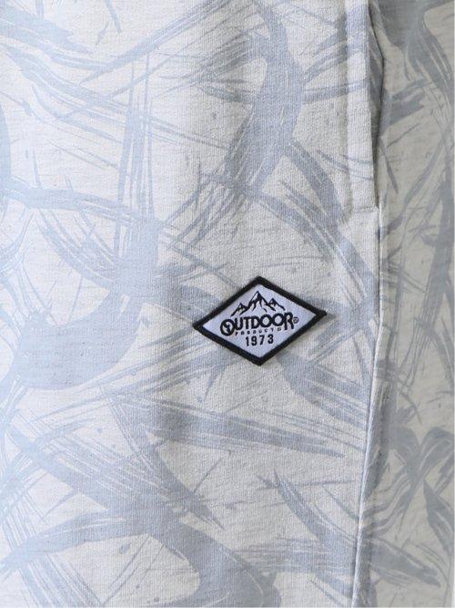 【大きいサイズ】アウトドアプロダクツ/OUTDOOR PRODUCTS 裏毛プリント ハーフパンツ