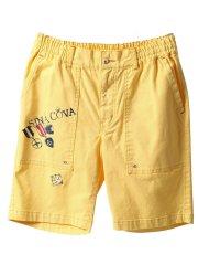 【大きいサイズ】シナコバ/SINA COVA ストレッチギャバ 刺繍ショートパンツ