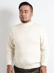 【大きいサイズ】グランバック/GRAND-BACK ビエラヤーン ハイネックニット