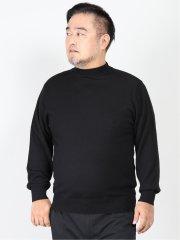 【大きいサイズ】グランバック/GRAND-BACK 抗ピリング ウール モックネックニット