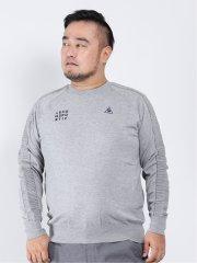 【大きいサイズ】ルコックスポルティフ ゴルフ/le coq sportif GOLF ウォッシャブル クルーネックセーター