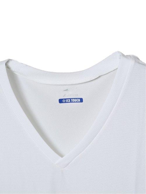 【大きいサイズ】ミズノ/MIZUNO アイスタッチクイックドライ アンダーVネック半袖Tシャツ
