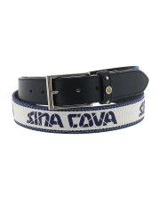【大きいサイズ】シナコバ/SINA COVA ロゴ型押しベルト