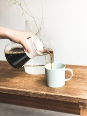 Simply HARIO GLASS COFFEE MAKER