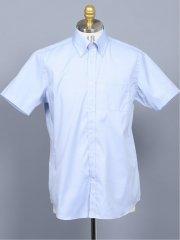 【予約商品】REONPOCKET 半袖ドレスシャツ ボタンダウン【約1か月後配送予定】