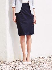 クールドッツ セットアップスカート 紺