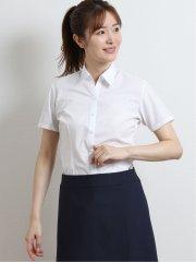 形態安定ブロード レギュラーカラースキッパー半袖シャツ
