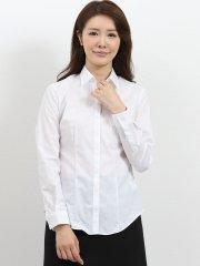 形態安定レギュラーカラースキッパー ブロード長袖シャツ