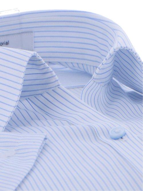 抗ウイルス形態安定  レギュラーカラースキッパー半袖シャツ
