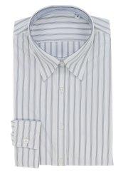 ノーアイロンストレッチ形態安定レギュラーカラー長袖ニットシャツ