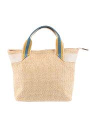 【WEB販売】エムエフエディトリアルレディース/m.f.editorial:Women 配色ハンドルトートバッグ